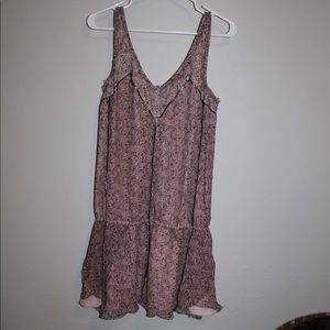 Elizabeth and James Pink Drop waist Dress Small